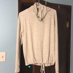 Grey sweater shirt